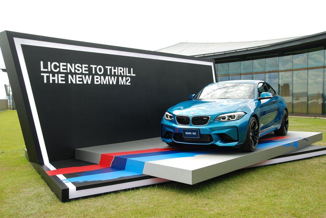 全新 18年式 BMW M2 台灣市場配額為 150 部。 記者林鼎智/攝影