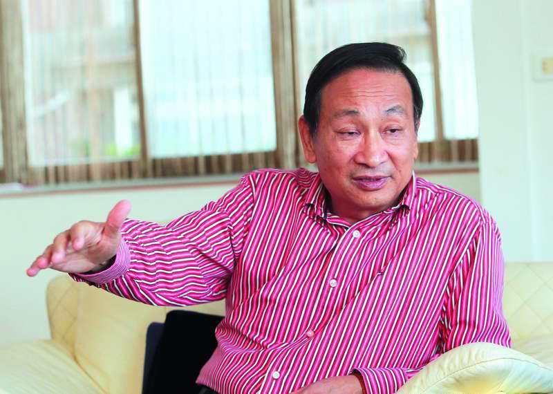 胡鎮埔對媒體報導他靠政商關係募得交保金一事耿耿於懷。 攝影/柯承惠