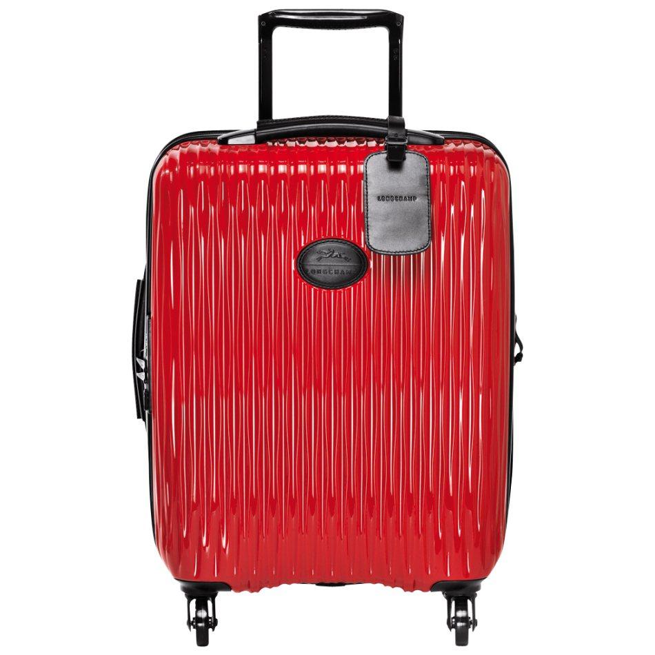 Fairval行李箱附有皮革行李吊牌,箱款參考售價16,700元。圖/Longc...