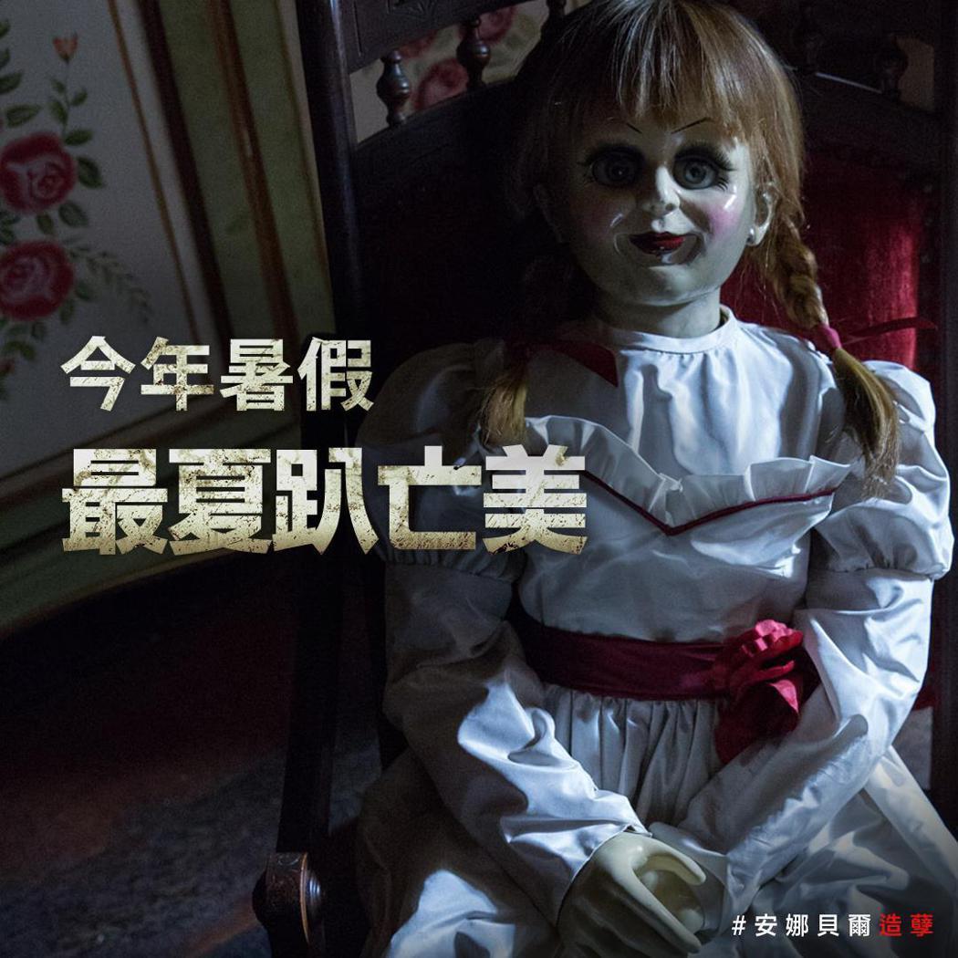 電影公司為宣傳《安娜貝爾:造孽》,在未經申請的情況下攜安娜貝爾的人偶搭乘高鐵拍宣...