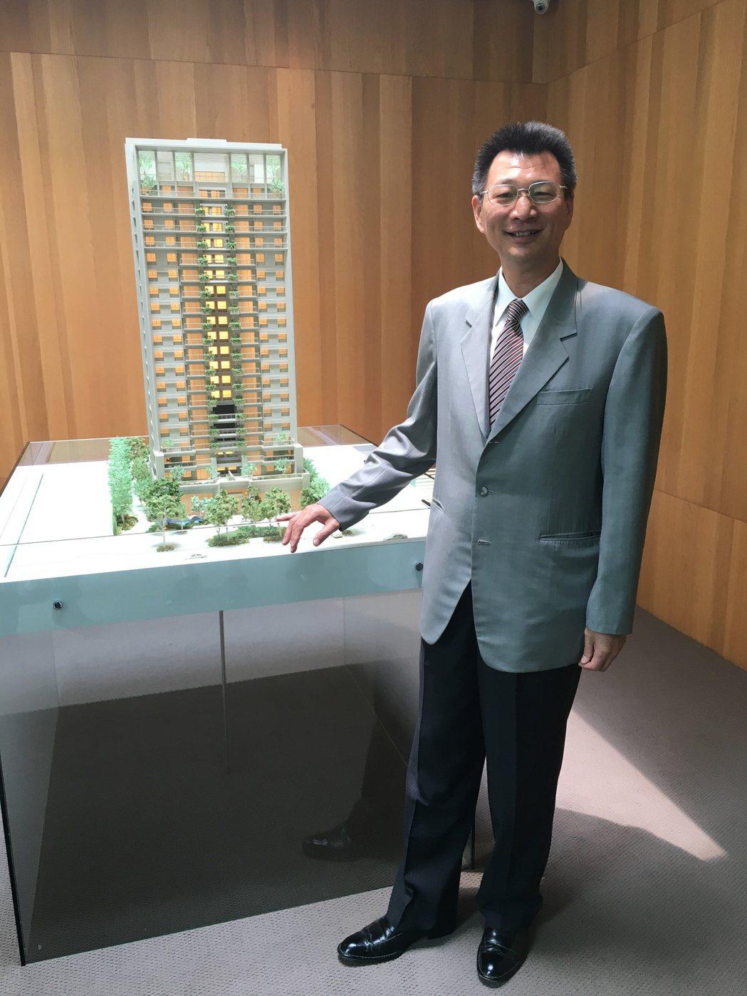 「華太松庭」是華太可以居系列第11件代表作,總經理彭國郎說,此案吸引不少自營商、...