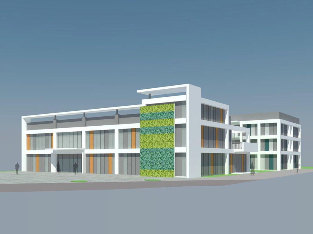 桃園藍迪兒童之家籌建楊梅新家園,此為示意圖。 圖/藍迪兒童之家提供