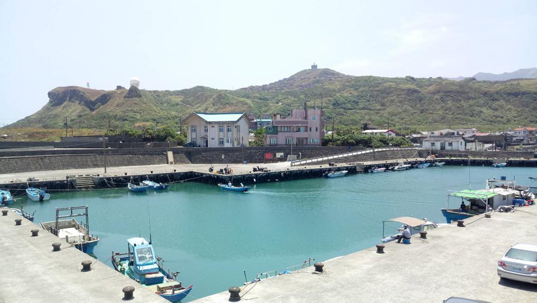 全台最東邊的馬崗漁港,恬靜令人心曠神怡。 圖/新北市漁業處提供