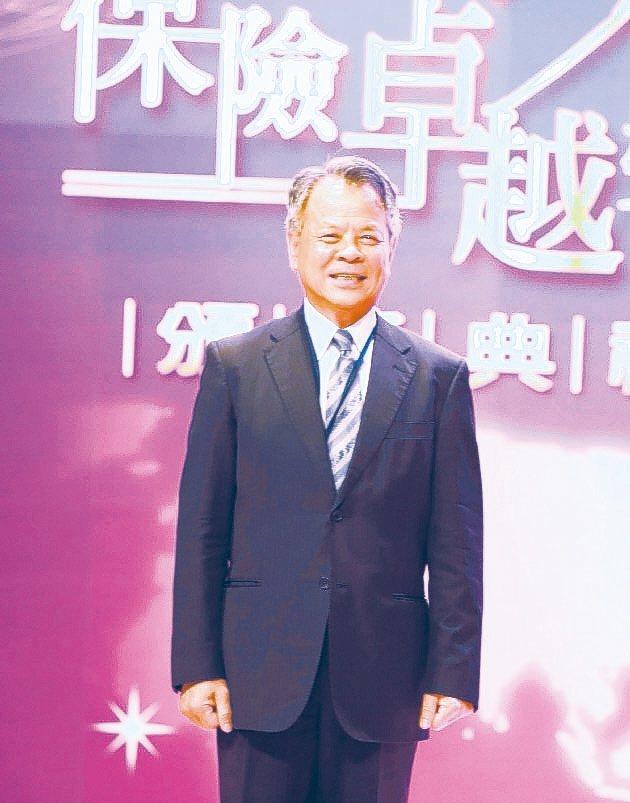 富邦產物保險董事長陳燦煌對台灣產險業的發展具有卓越貢獻。 毛洪霖/攝影