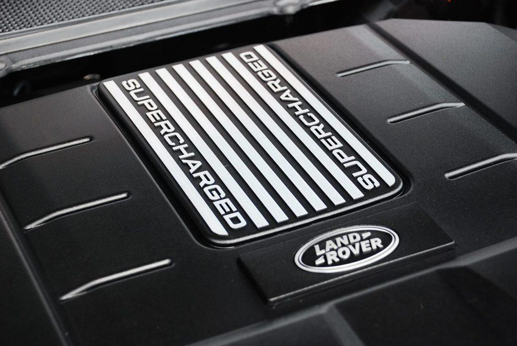 3.0升V6機械增壓汽油引擎。記者林昱丞/攝影