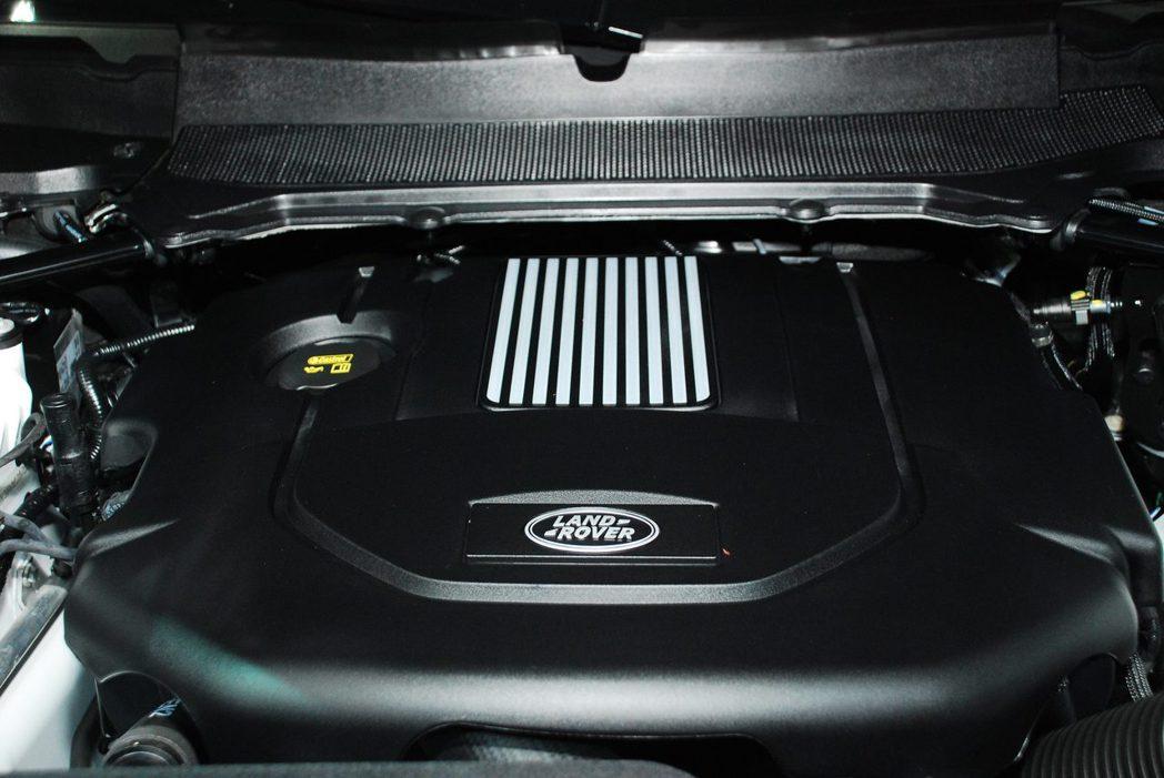 3.0升 V6渦輪增壓柴油引擎。記者林昱丞/攝影