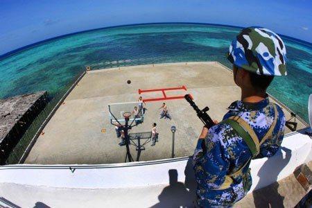 在南海爭議海域看到中共無人機如同家常便飯。 圖/摘自環球網