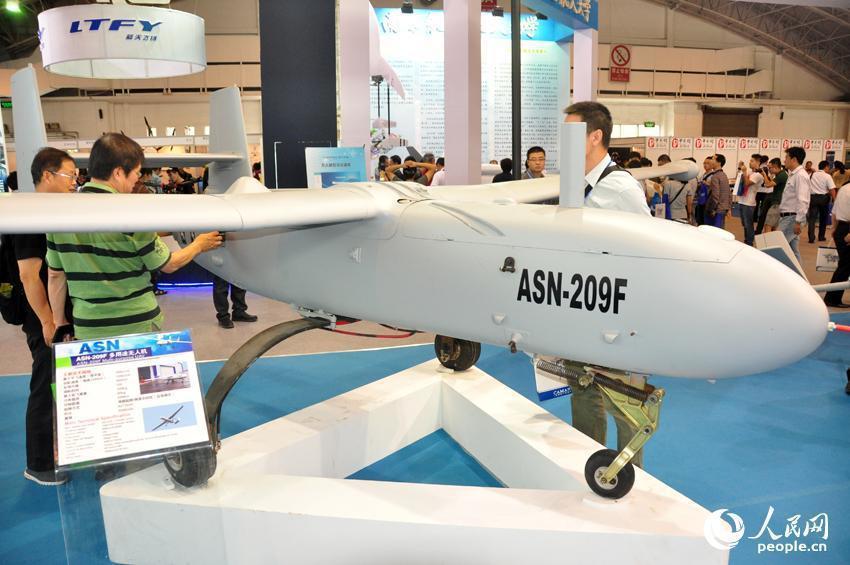 ASN-209型無人機。 圖/摘自網路
