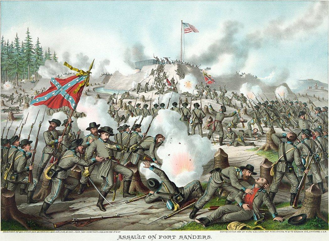 1861年選戰過後,七個南部州份立即表示脫離聯邦。即使林肯放棄一貫的反奴立場試圖...