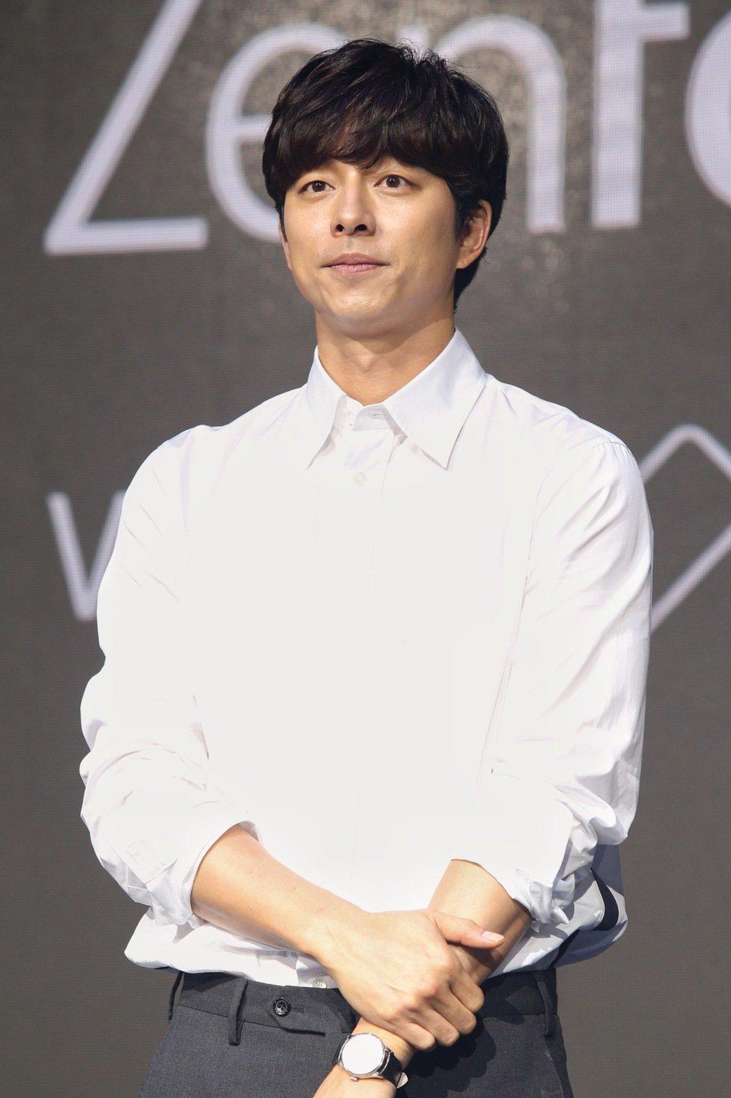 孔劉來台出席代言華碩ZenFone 4系列手機。圖/聯合報系資料照