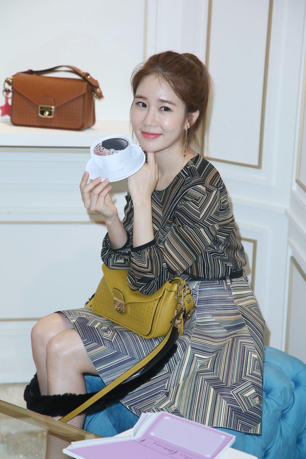 韓星劉寅娜這周為Longchamp新品上市活動來台。圖/聯合報系資料照