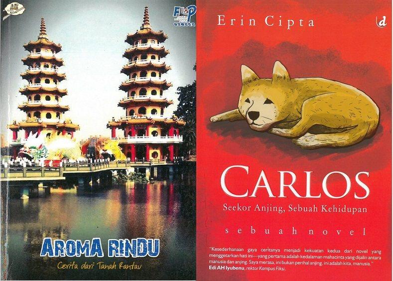 左為FLP第三本得獎作品集《想念的味道》,Forum Lingkar Pena ...