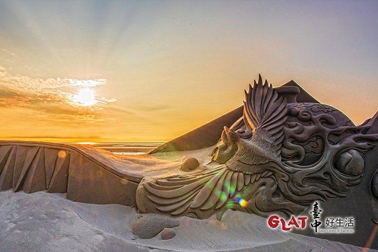 連續舉辦五年的「大安沙雕音樂季」、「大安風沙節」每年吸引不少觀光客。