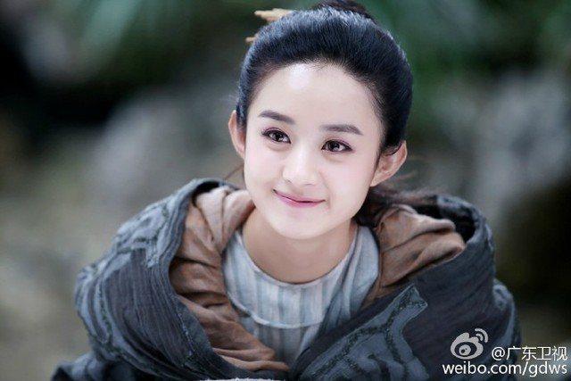 趙麗穎因演出「花千骨」而大紅。圖/摘自微博