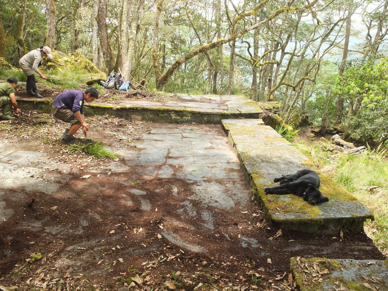花蓮拉庫拉庫溪流域曾有12個布農族舊社,至今仍留有舊社遺址。圖/趙聰義提供