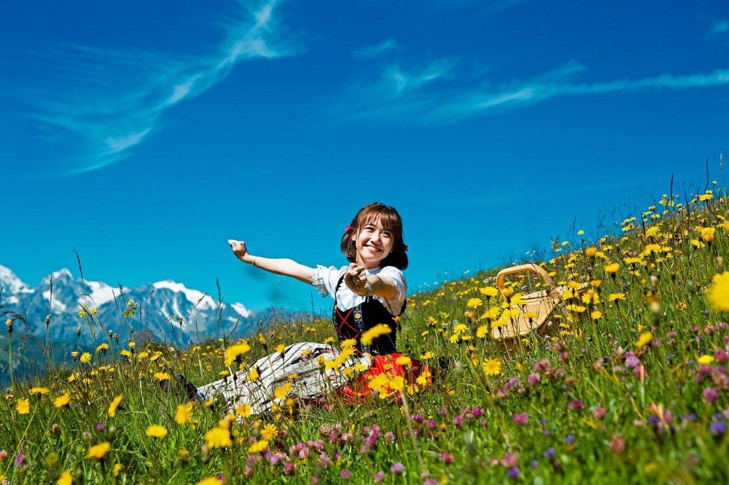 LuLu遠赴瑞士拍MV。圖/環球提供