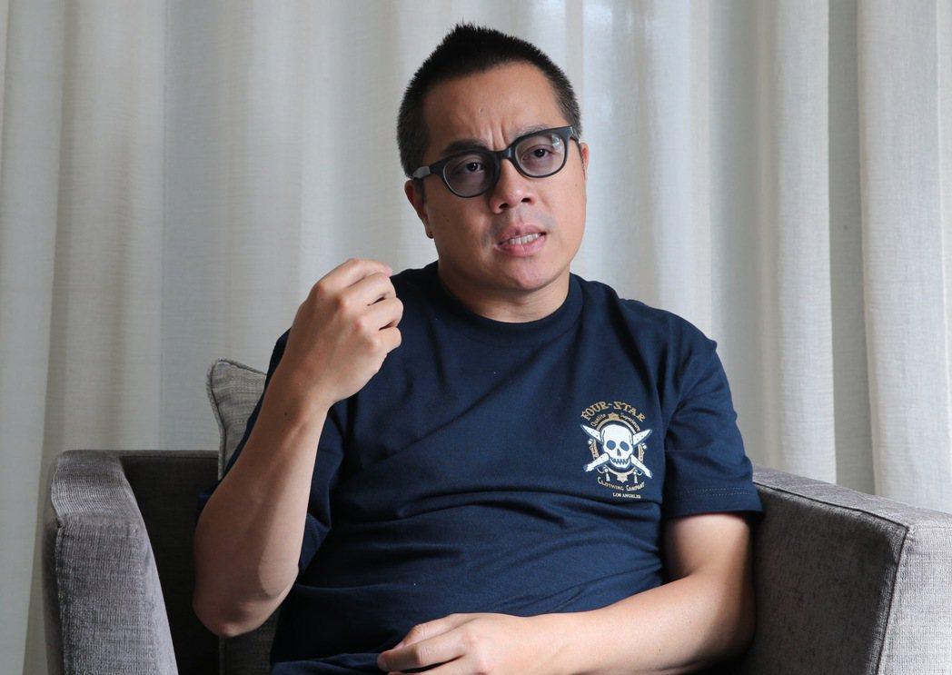 專訪「志明與春嬌」系列電影導演彭浩翔。記者許正宏/攝影