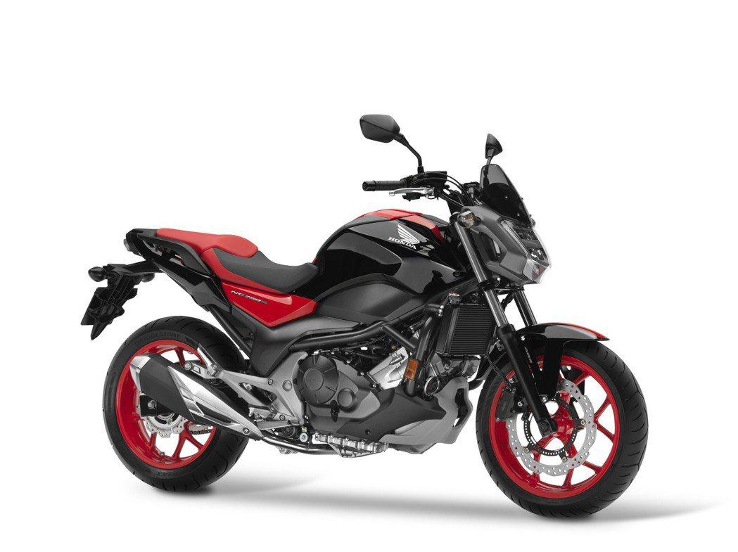 2017 NC750S。圖/Honda Taiwan提供