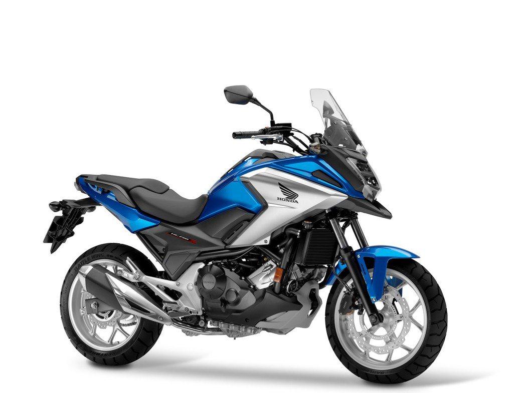 2017 NC750X。圖/Honda Taiwan提供