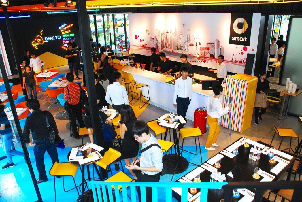 #smartPopUpTaipei品牌概念館。記者林昱丞/攝影