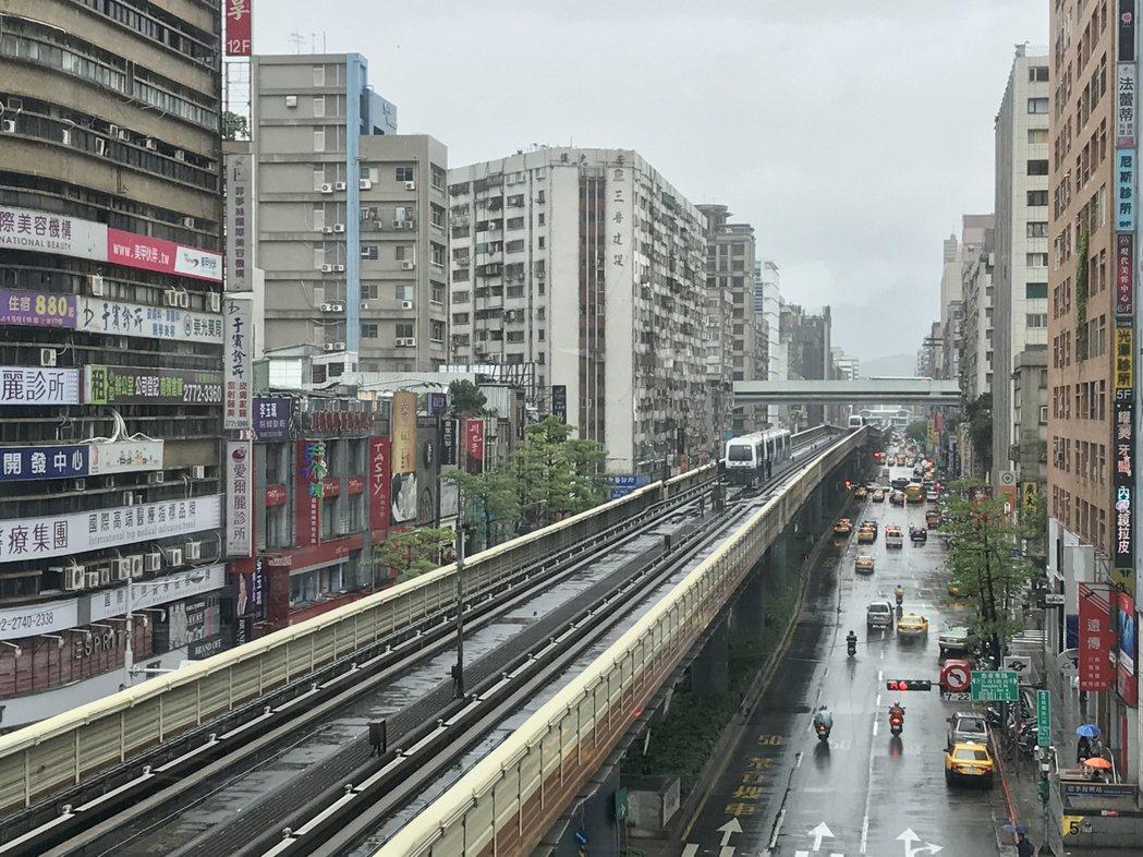 北市蛋黃區房價仍未回穩。記者游智文/攝影