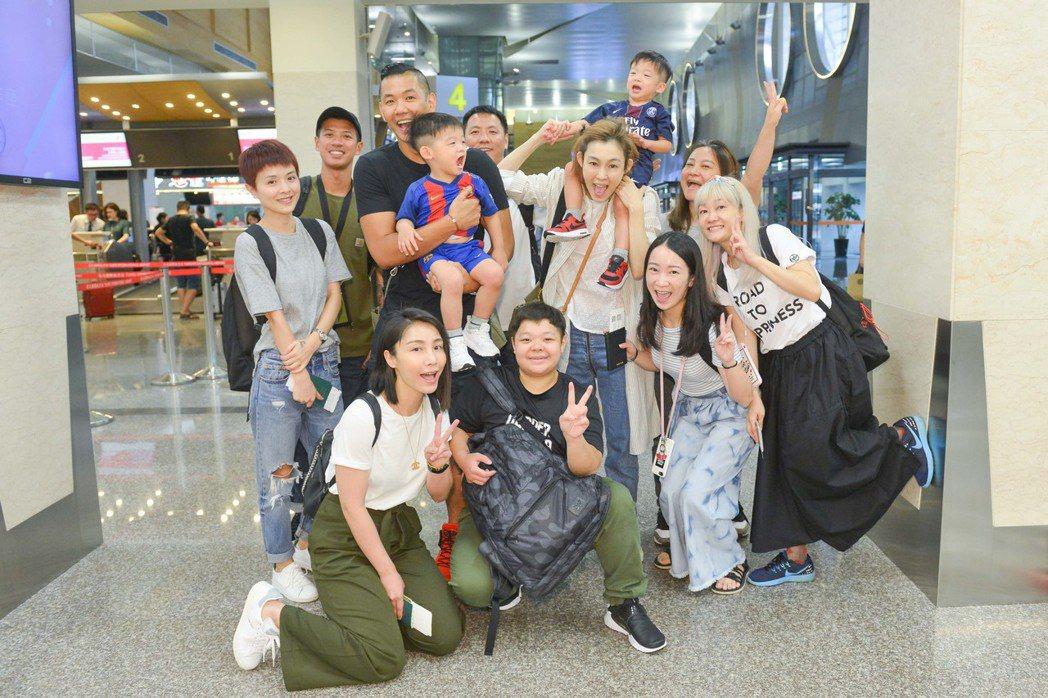 范范攜家帶眷赴上海開唱。圖/福茂提供