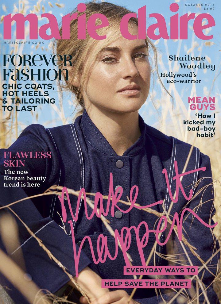 雪琳伍德莉在英國版「美麗佳人」雜誌提到被捕入監後,沒有隱私、很羞辱的經驗。圖/摘...