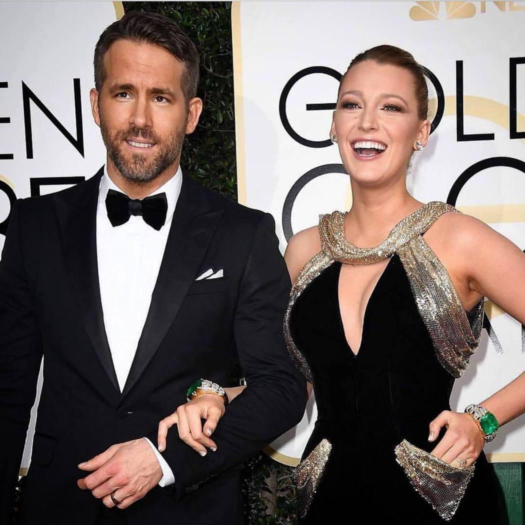 布蕾克萊佛莉與萊恩雷諾斯是好萊塢知名明星夫妻。圖/摘自instagram