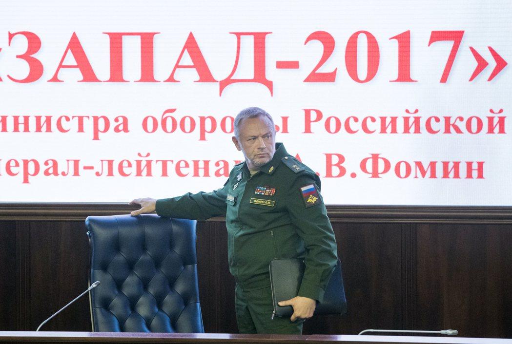 俄國副國防部長佛明8月29日在莫斯科的記者會上說,9月14日到20日舉行的「西方...