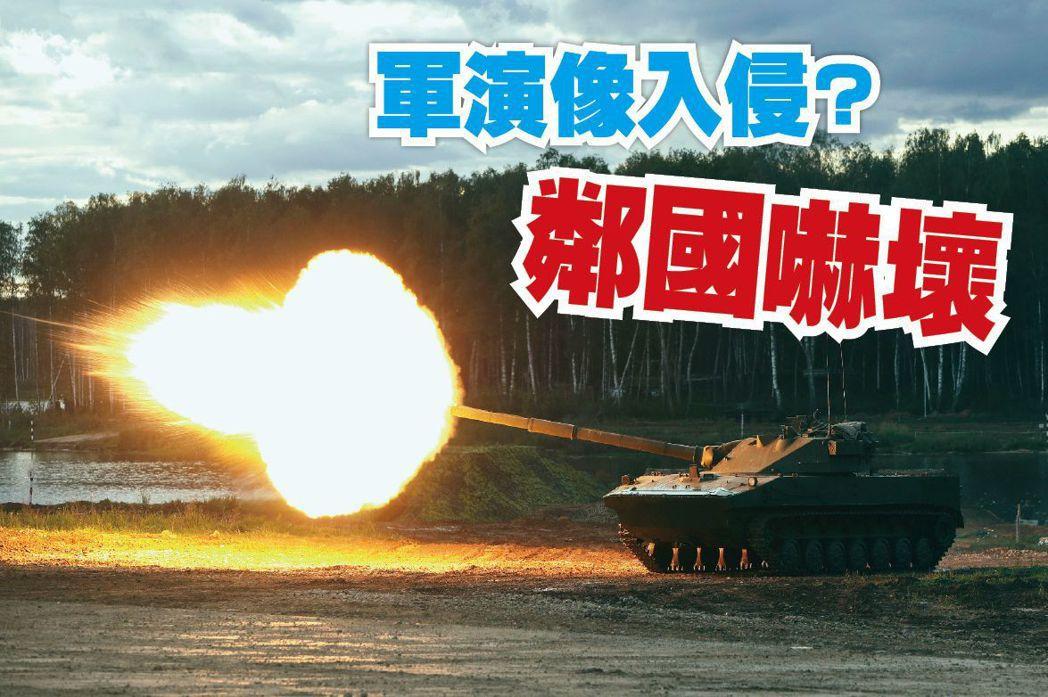 誰能把軍演玩成「恐怖大秀」?除了北韓還有另一國