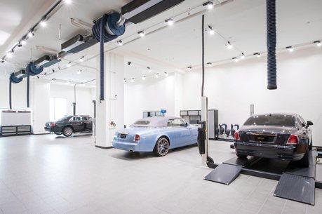 勞斯萊斯賣破200輛 全新維修服務中心開幕