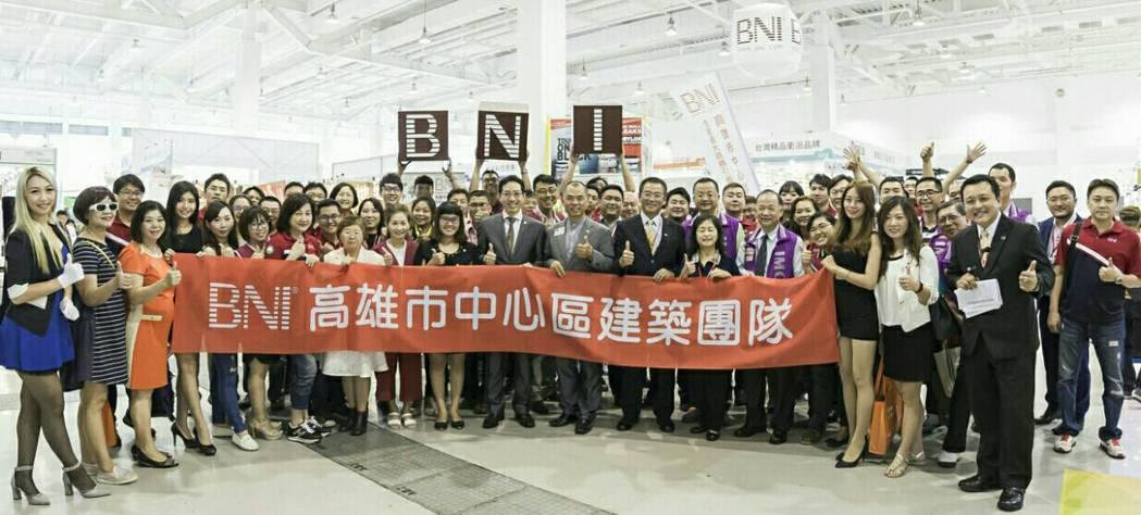 BNI高雄市中心區建築團隊此次擴大整合非高雄市的BNI建築相關產業會員參展,以3...