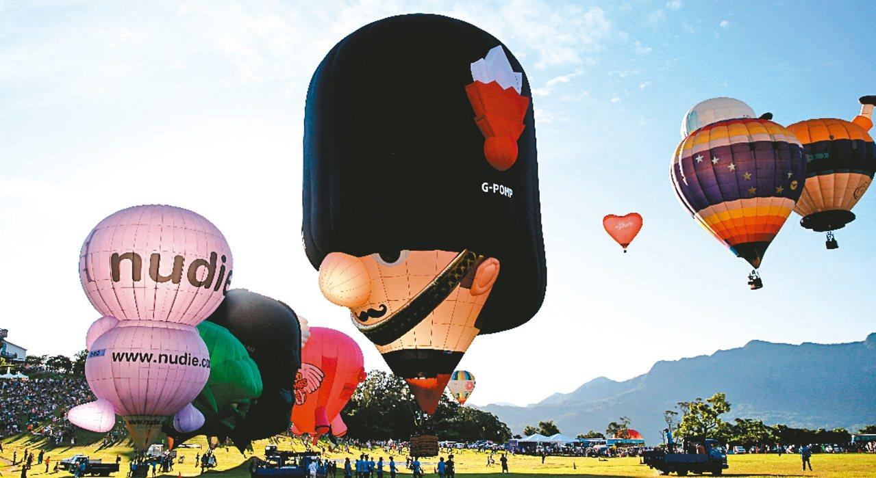 台東縣政府與旅宿業者推出「雙十煙火熱氣球方案」,觀賞國慶煙火且住宿2晚,享優惠還...