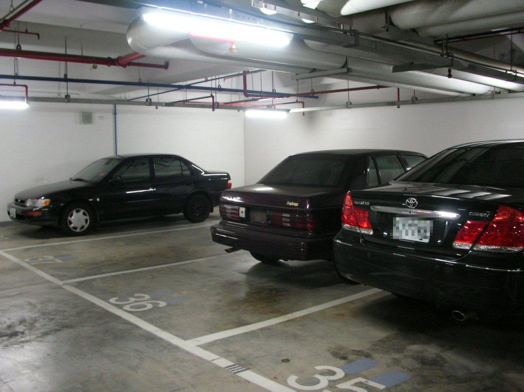 非營業使用的地下停車位免徵房屋稅。 圖/本報資料照片