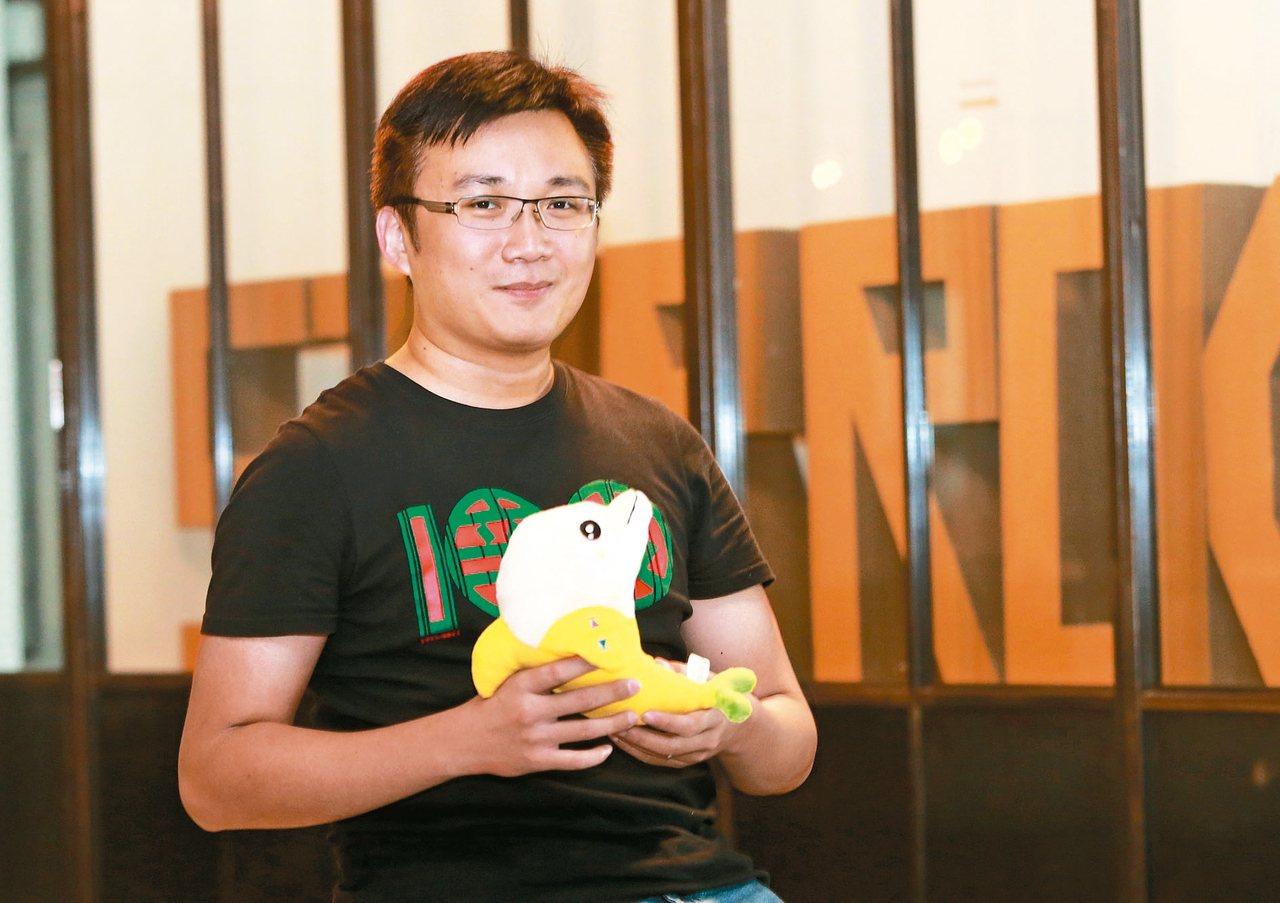 量子音樂創辦人蔡明耀。 記者黃義書/攝影