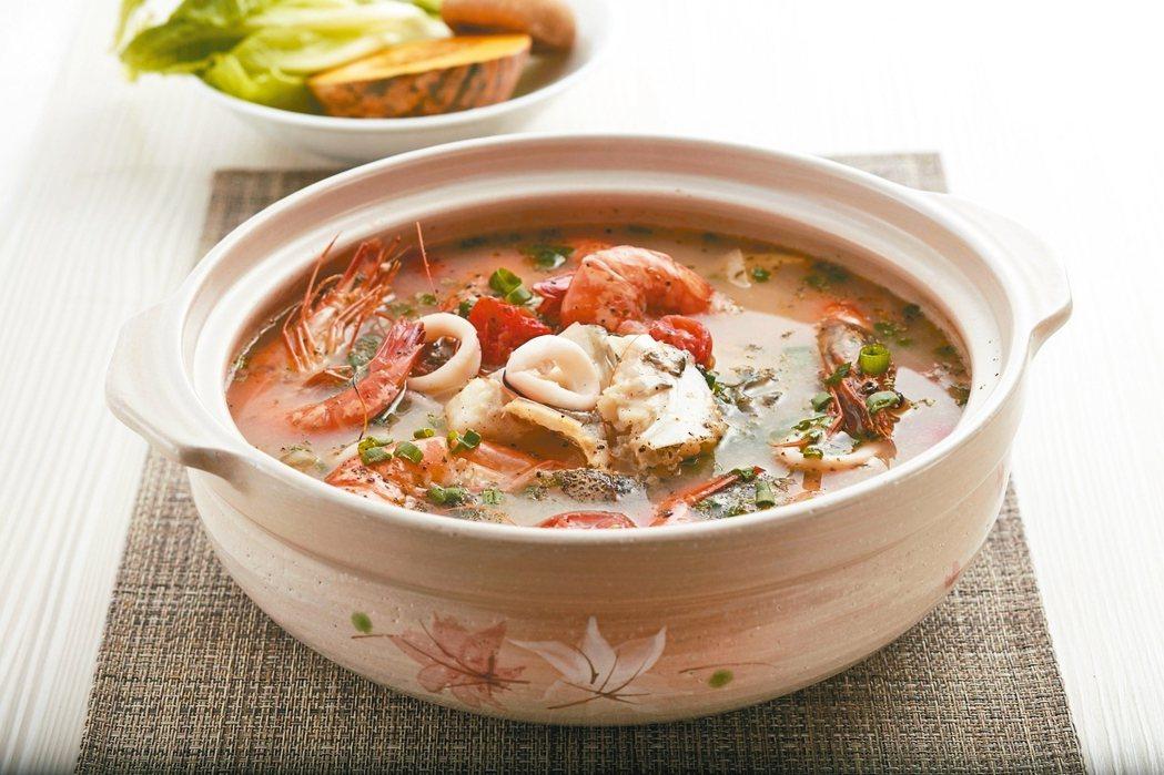 泰式海鮮湯 照片:天和鮮物/提供
