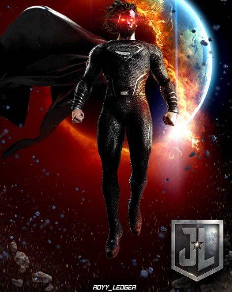 超人新造型疑似將會是「黑衣長髮」。圖/摘自IG