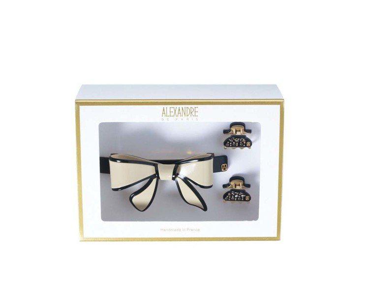 麗晶獨家Alexandre de Paris奧黛莉凡登雙經典禮盒,5,800元。...