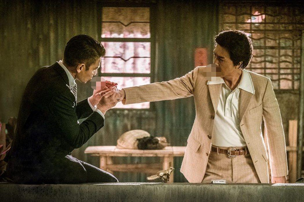 甄子丹(右)與劉德華(左)兩大天王首度合作「追龍」。圖/華映提供 ( ※ 提醒