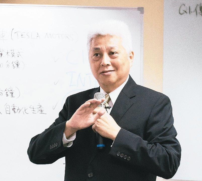交大EMBA創辦人朱博湧教授。 圖/交大提供