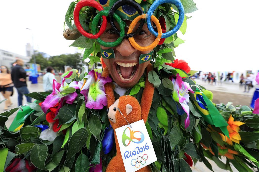 2016年8月巴西里約花2350億風光舉辦奧運,為南美洲帶來旺盛活力。 歐新社