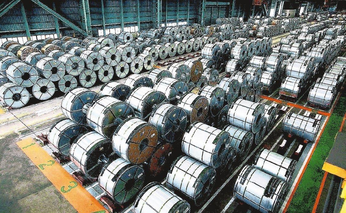 財政部公告,對自中國大陸及韓國產製進口不銹鋼冷軋鋼品課徵反傾銷稅。聯合報系資料照