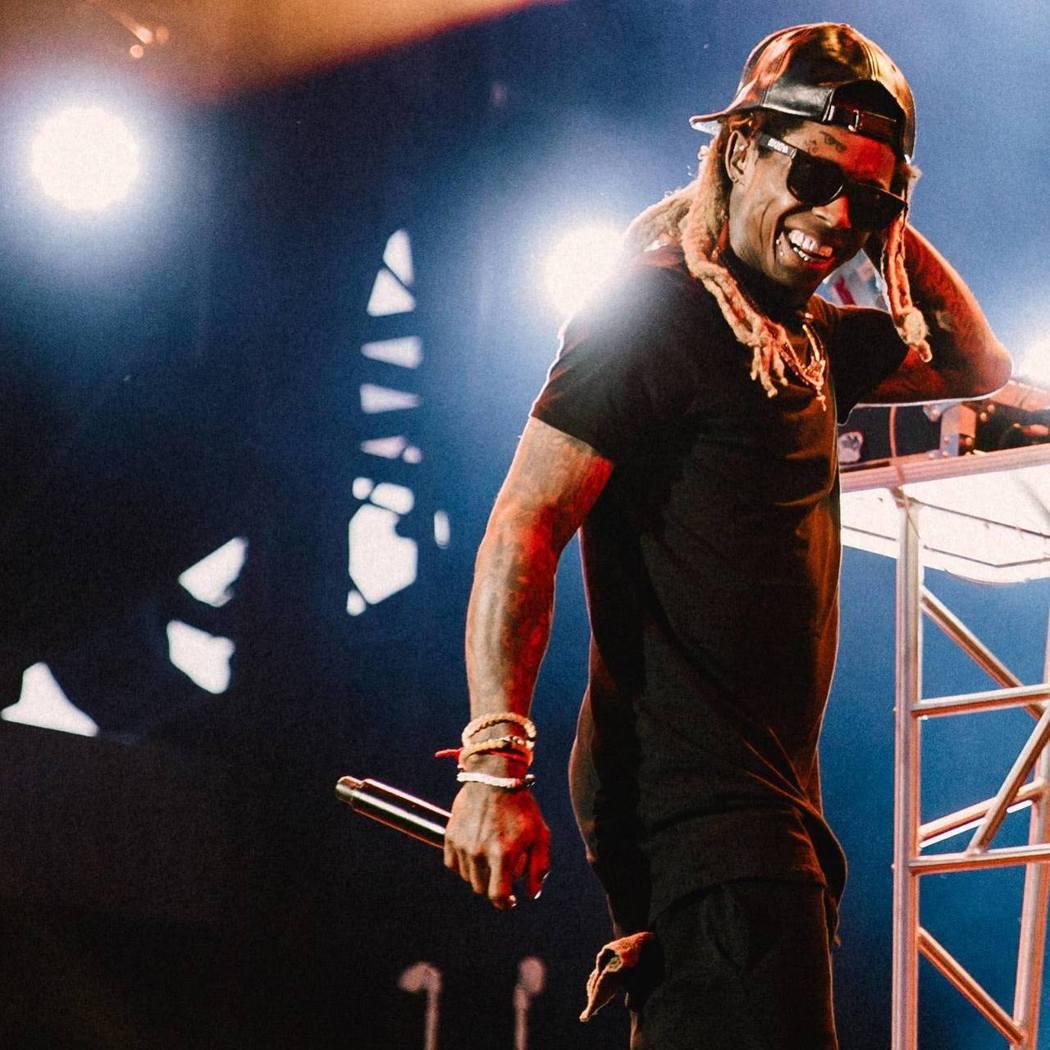 饒舌歌手小韋恩(Lil Wayne)。 圖/擷自臉書