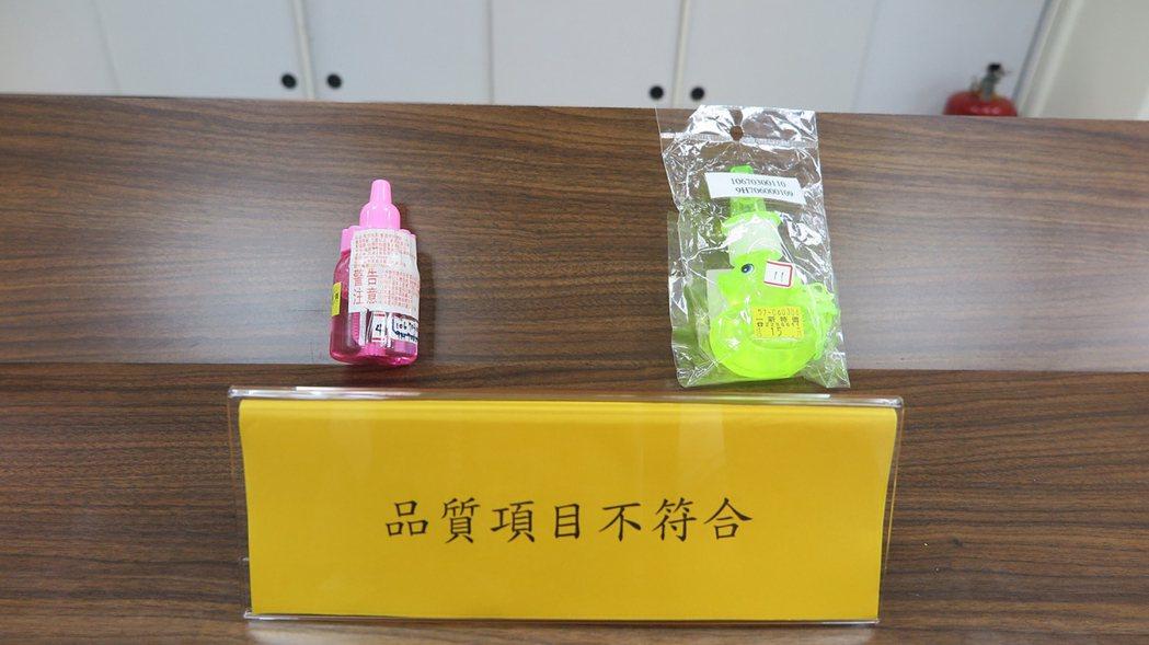 經濟部標準檢驗局針對南部地區販售的泡泡水玩具進行抽樣檢驗,發現2件生菌數含量超標...