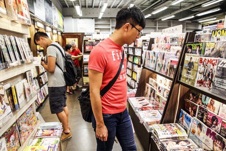 如果我們都清楚閱讀是重要的,那麼一個人口越來越多的城市,書店不該越來越少。 圖/...