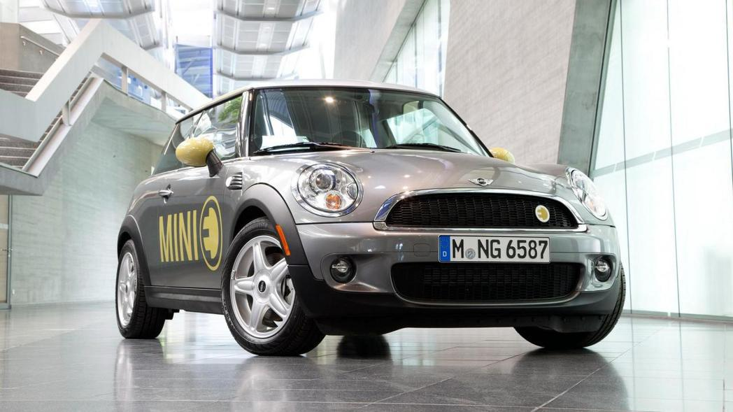 BMW在中國市場與長城汽車一起合作生產販售電動車,其中也包括 Mini 品牌。圖為Mini E。 摘自Mini