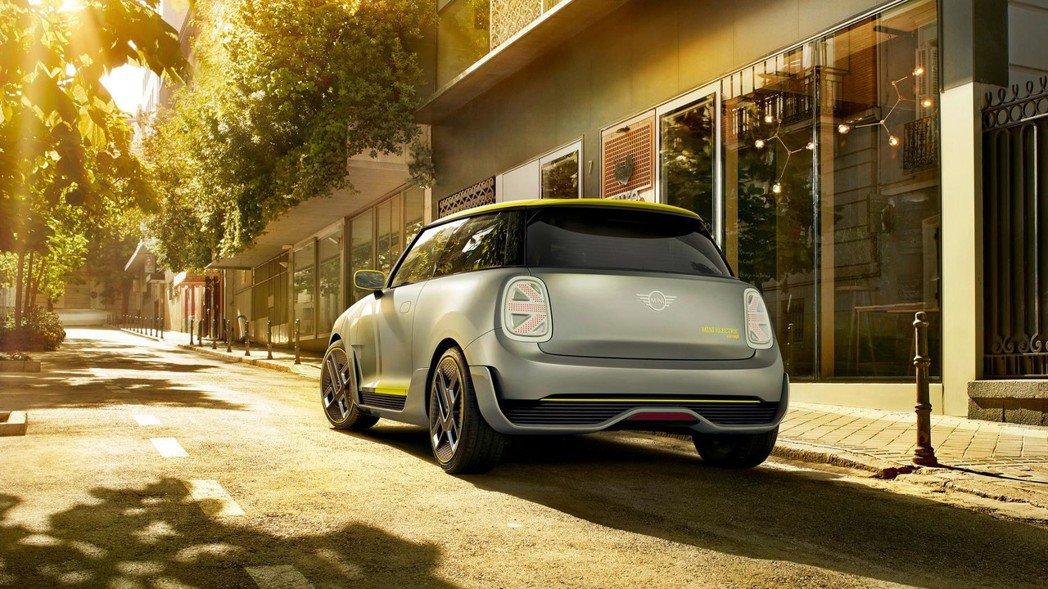 圖為Mini Electric Concept。 摘自Mini