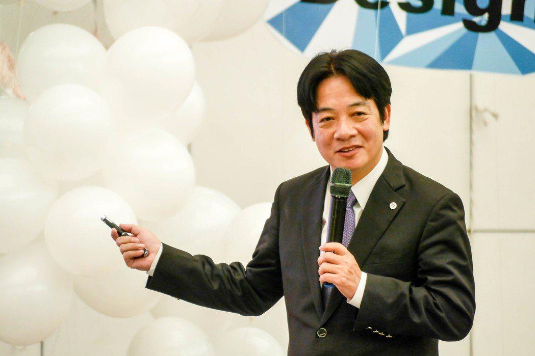 台南市長賴清德在國內人氣高。 本報資料照