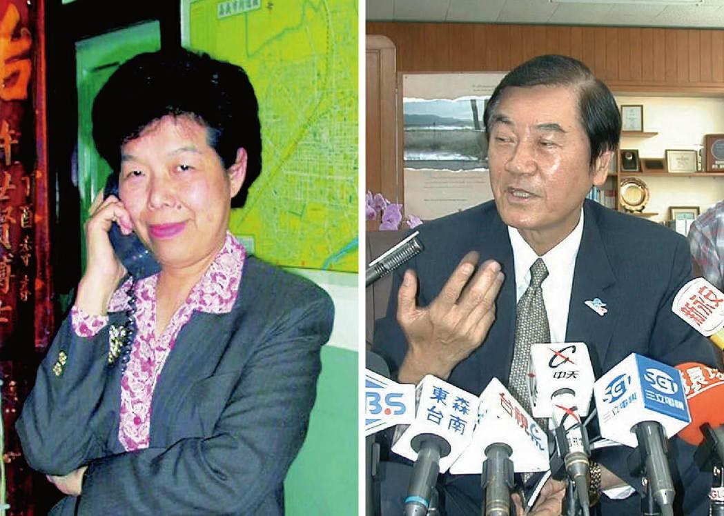 張博雅(左圖)、陳唐山(右圖)。 本報資料照