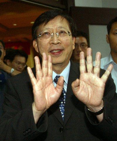 2009年,劉兆玄因台灣中南部八八水災,辭卸閣揆。 本報資料照